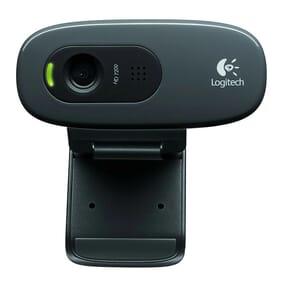 Logitech HD Webcam C270 720p compatible Facebook/Skype/MSN